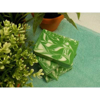 Savon doux thé vert et poire blanche